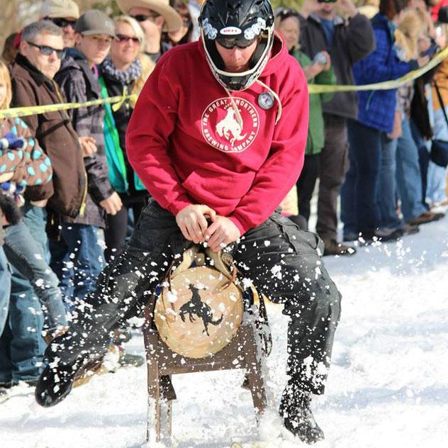 Barstool Ski Races